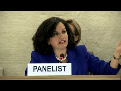 Business and human rights and regional organizations - Plenary panel UN Forum on BHR