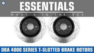 DBA 4000 Series T-Slot Front Brake Rotors - What's in the Box?