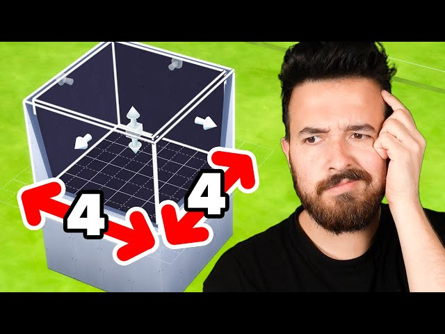 4x4 Tiny Home CHALLENGE! (Sims 4)