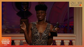 Miriam-Teak Lee wins Best Actress in a Musical for \u0026 Juliet | Olivier Awards 2020 with Mastercard