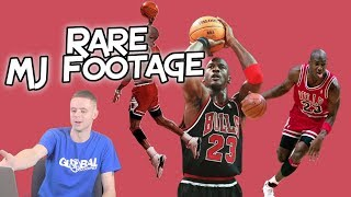 Professor Reacts to Michael Jordan SUPER RARE 1988 Footage.. Between the Legs Dunk in
