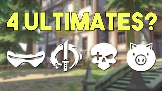 How to Shutdown 4 Ultimates at The Same Time - Funny Overwatch Series #39 thumbnail