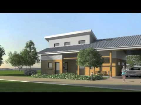 Eco Solar power house for France