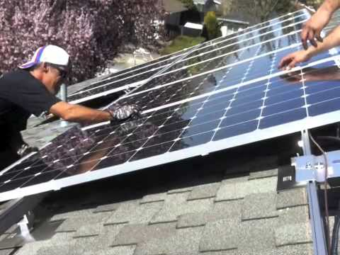 March 13, 2013 Solar Install San Jose, California