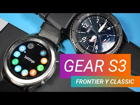 samsung galaxy gear s3 frontier y classic primeras. Black Bedroom Furniture Sets. Home Design Ideas