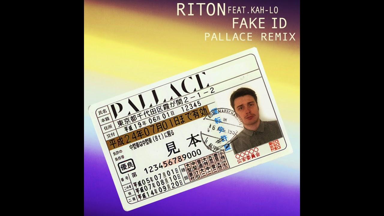 Fake Remix Kah pallace Riton audio Feat Id - Lo