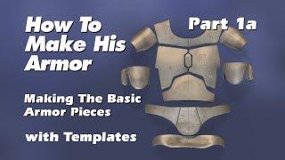 Hoe maak Boba Fett Armor (Stap voor Stap Gids) Deel 1a