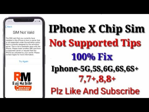 sim not valid iphone 6