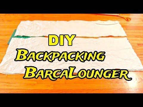 DIY Backpacking Barcalounger
