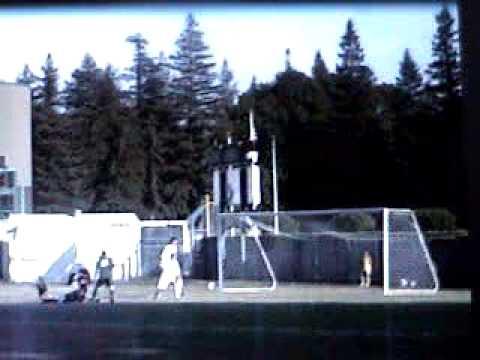 Sacramento State Soccer Goal