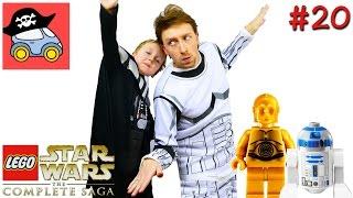 👽 #20 ЧЕРЕЗ ДЖАНДЛЕНДСКИЕ ПУСТОШИ. Lego Star Wars The Complete Saga. Новая надежда — Жестянка