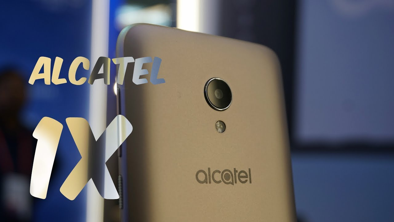 Alcatel 1x Android Go Phone Hands on, Go Apps, Camera at MWC 2018