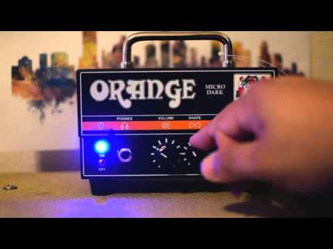 NEW Orange Micro Dark Terror 20 watt Mini Head