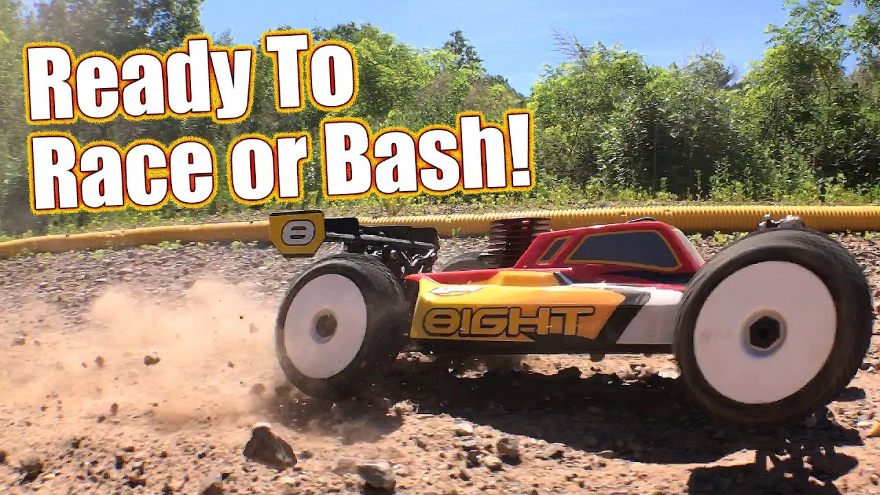 Track Bash Action Review Losi 8ight Nitro Rtr Buggy Rc