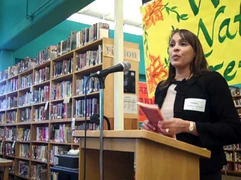Natasha Trethewey visits Madison High School in Portland