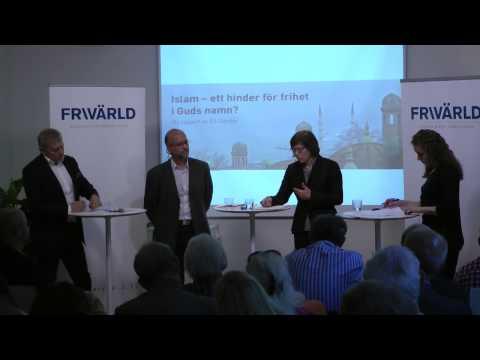 Rapportlansering: Islam -- Ett hinder för frihet i Guds namn?