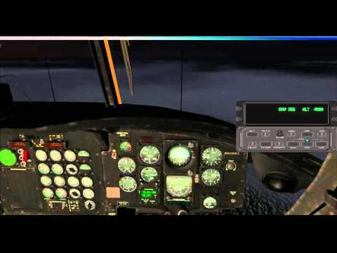 FSX H47 NIGHT EXPOSURE IRISH SEA EGOV-EGOV Combined Operations Wing www.milairsim.com