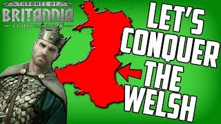 Trying to Dominate the Welsh on Total War Thrones of Britannia Mercia Campaign