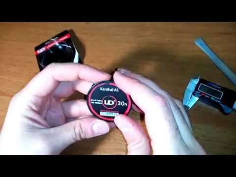 10m 0.1 x 0.5mm Original Youde Kanthal Ribbon Wire Roll E ...