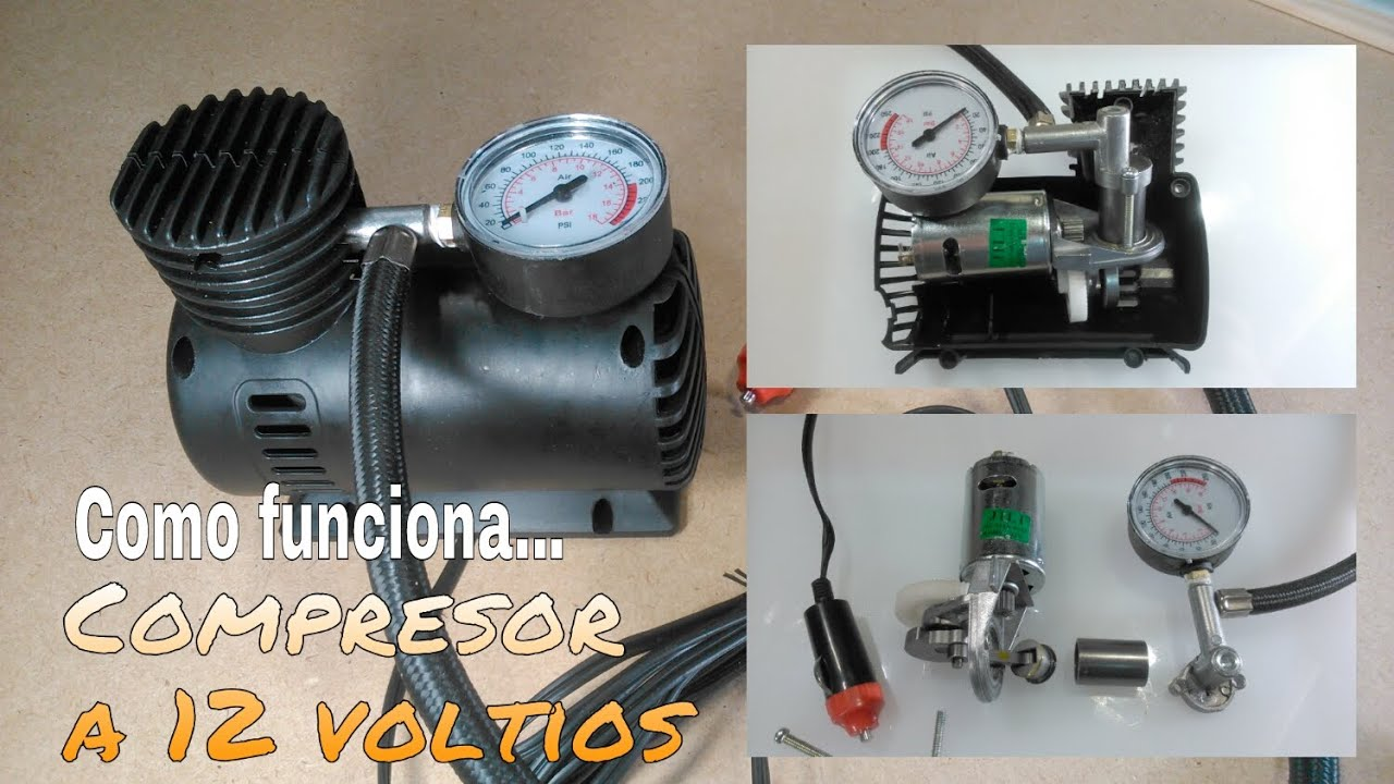 C mo funciona un compresor de aire desarmando para for Compresor de aire bricodepot
