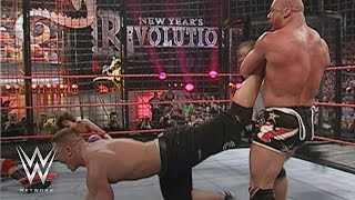 WWE Network: Cena, Angle, HBK, Kane, Masters & Carlito vie for WWE Title: New Year's Revolution 2006