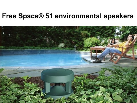 Installing Bose Free Space 51 Speakers with Zoned Audio System
