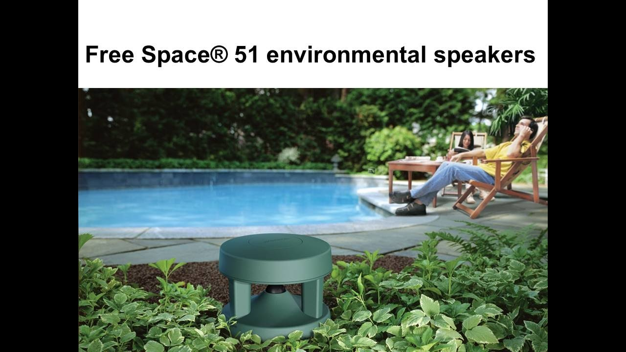 Installing Bose Free Space 51 Speakers with Zoned Audio System - YouTube