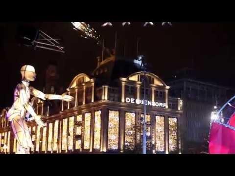 Turn on the Lights 2014 - de Bijenkorf Amsterdam