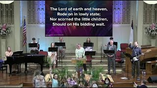 March 28, 2021 Service [Trimmed] at First Baptist Thomson, Streaming License 201531172