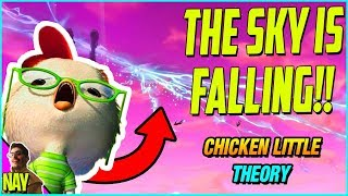 THE SKY IS GOING TO FALL! - Fortnite CRACK IN THE SKY THEORY (Chicken Little THEORY)