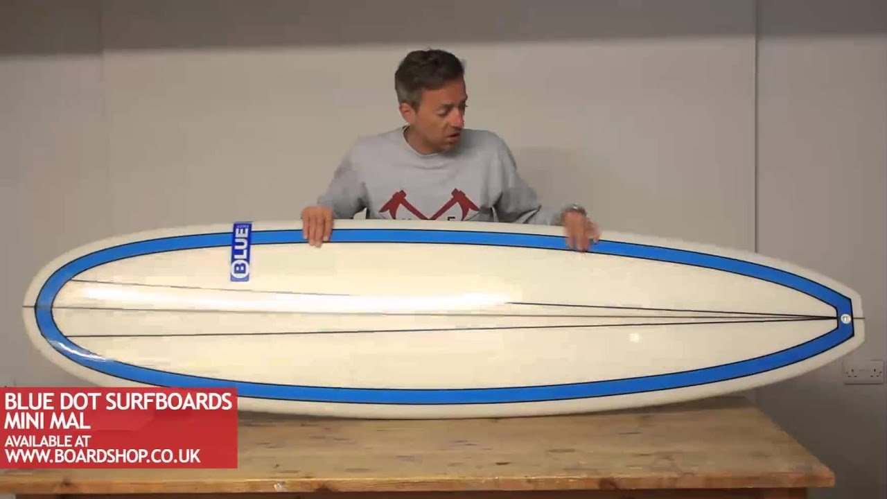 Blue Dot Surfboards Review Mini Mal Youtube