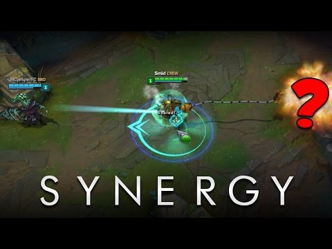Best SYNERGY Moments in League of Legends | 2014-2017
