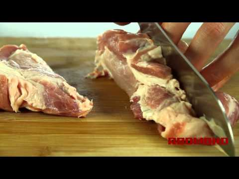 Рагу с мясом в мультиварке REDMOND RMC-M4502