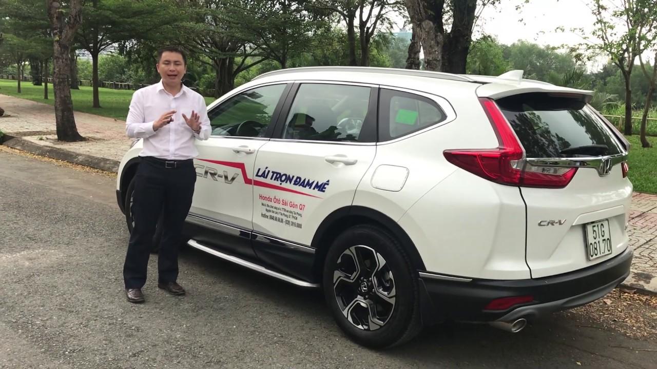 Khuyến Mãi Giá Xe Honda CR-V 1.5L Turbo 2019 2020 Nhập Thái. Mua Trả Góp 320Tr Lăn Bánh Ra Biển HCM