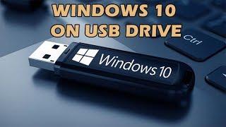 How to put Windows 10 installation onto a USB memory stick