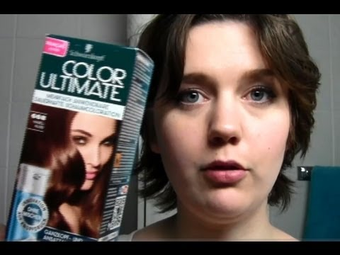 premire impression coloration color ultimate de schwarzkopf - Mousse Colorante Schwarzkopf