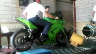 Kawasaki Ninja 250r Turbo 58.2hp [With sound]