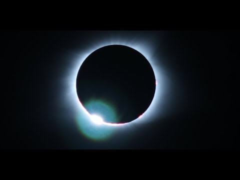 AWE Inspiring Time Lapse of a Total Solar Eclipse