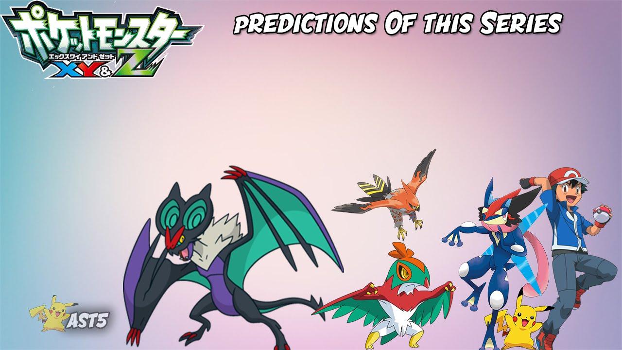 Prediction of the series based on pokemon xy z opening - Pokemon xy mega evolution ...