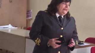 Il saluto del comandante provinciale dei Vigili del fuoco Cristina D'Angelo