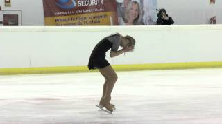 2015 ISU Junior Grand Prix  - Logroño Ladies Free Skate Serafima SAKHANOVICH RUS