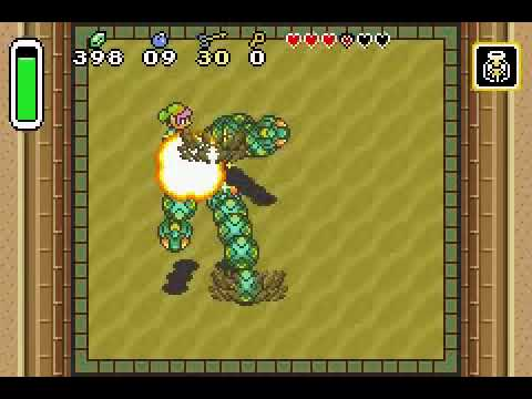 Legend of Zelda: A Link to the Past 2nd boss (Desert Palace)