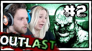 YuB & MeG Play OUTLAST [2] Horror Gameplay with my Girlfriend