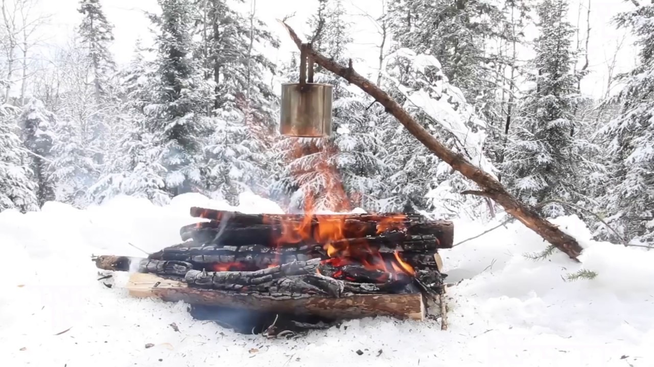 BUSHCRAFT: Winter Camping Adventures in the Boreal Forest ...