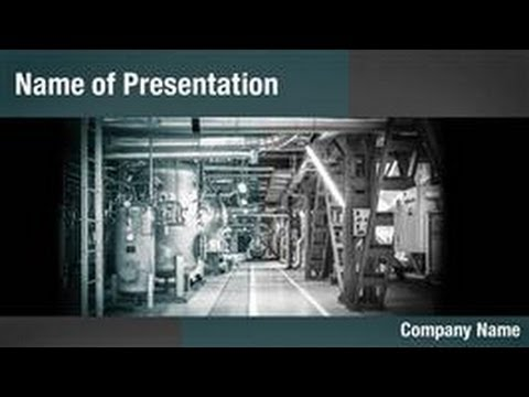 Thermal power plant powerpoint template backgrounds thermal power plant powerpoint template backgrounds digitalofficepro 02865w youtube toneelgroepblik Choice Image