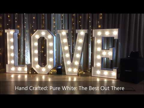 Hire These Stunning Love Letters For Your Event