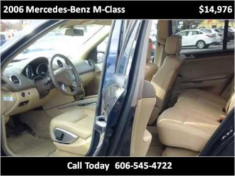 2006 MercedesBenz MClass Used Cars Barbourville KY  YouTube