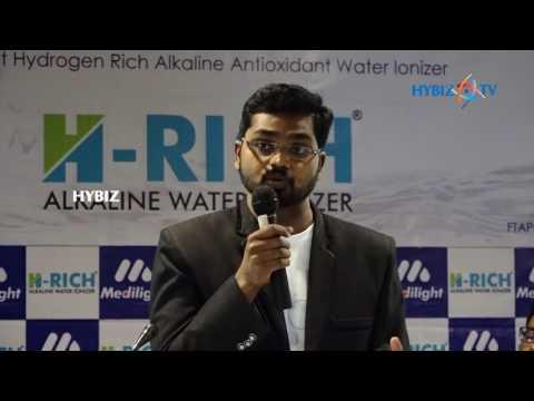 Srinivas Yadav Medilight Hydrogen Rich Alkaline Water Ionizer