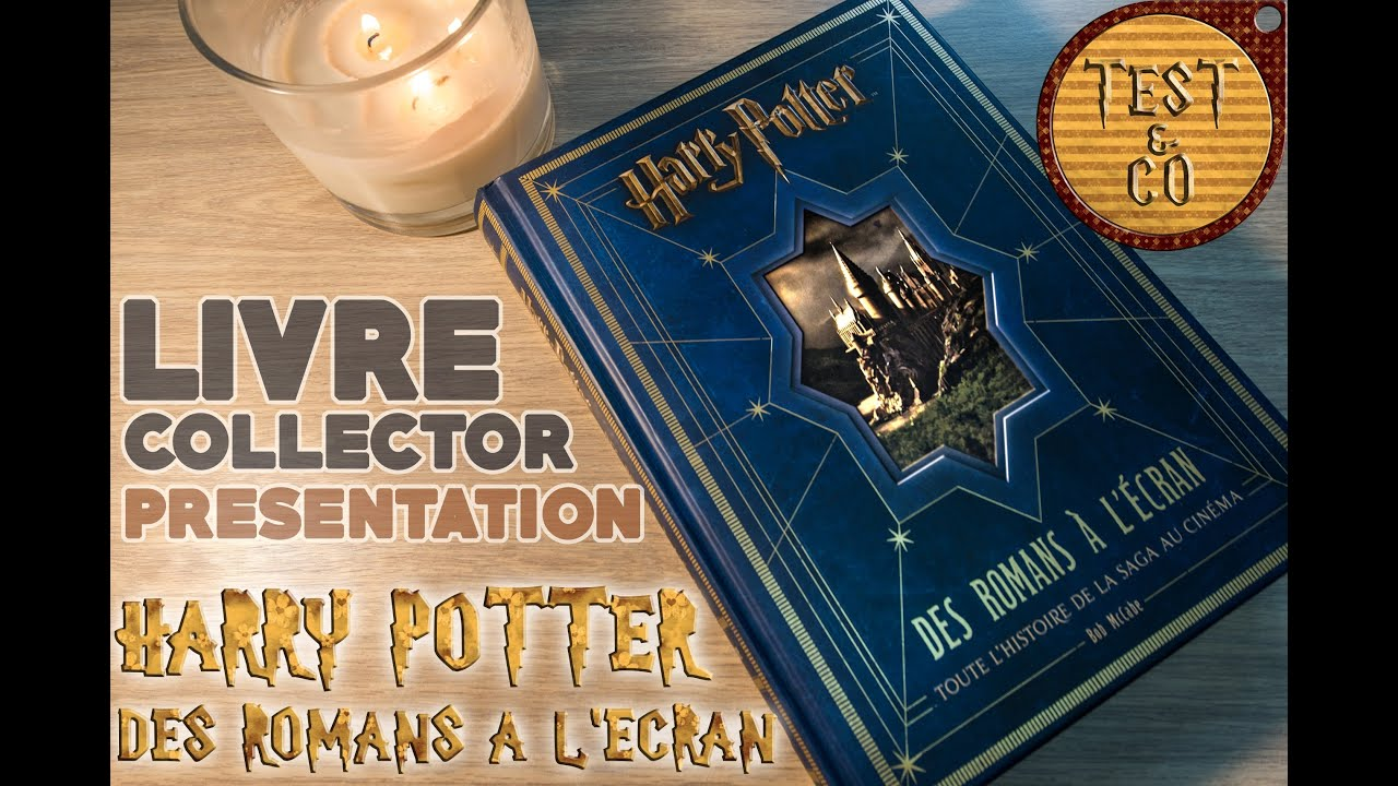 pr sentation 1 livre harry potter des romans l 39 ecran youtube