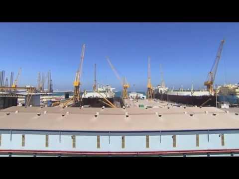 Nakilat's Erhama Bin Jaber Al Jalahma Shipyard (Arabic)